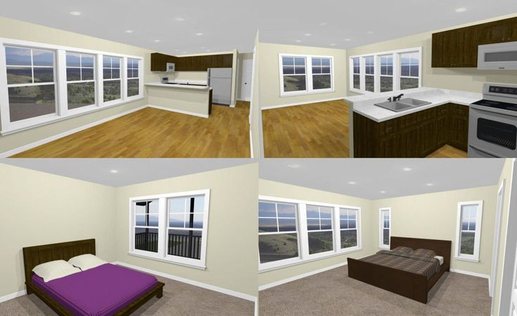 44x48 House -- 2-Bedroom 2.5-Bath -- 1,645 sq ft -- PDF ...