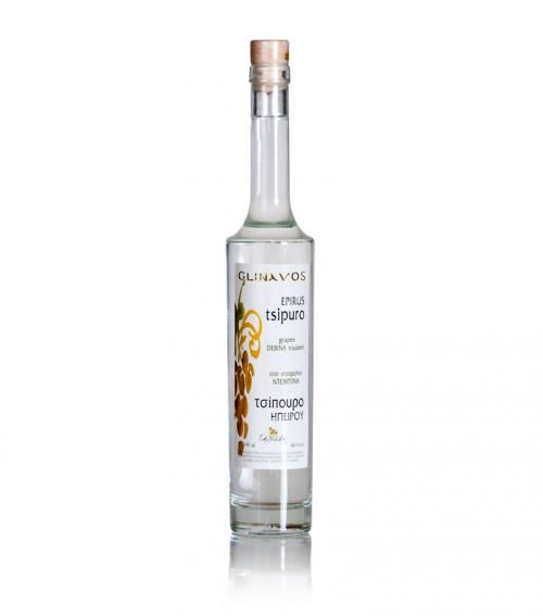 """Prestige Glinavos"" tsipouro from Epirus 500ml available at just 20.00€"