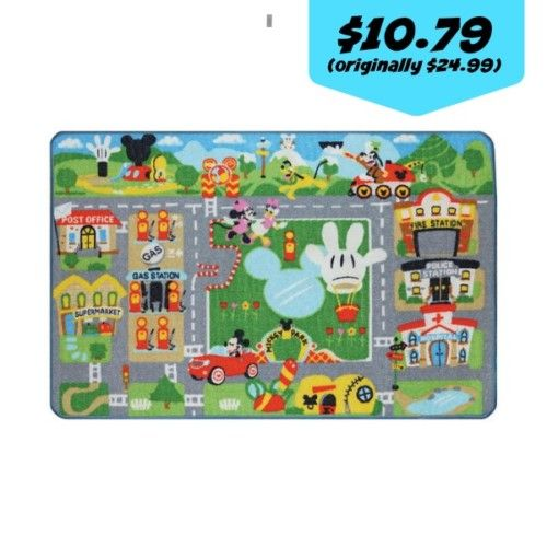 Kmart: Mickey Mouse Rug and Toy Set for $10.79 (originally $24.99) - Couponing to Disney