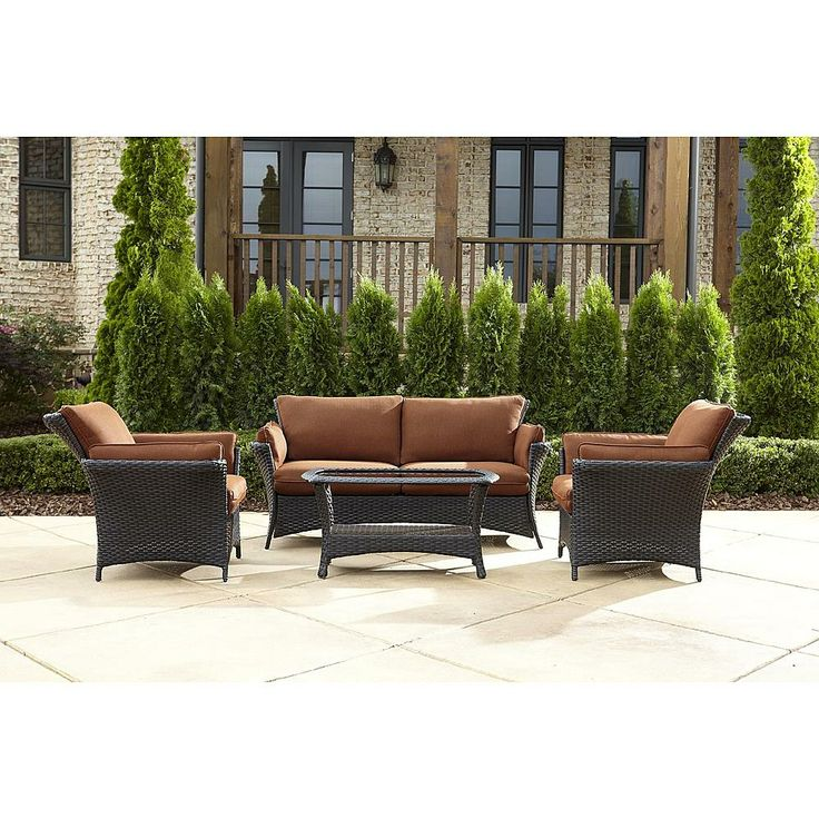 Brentwood Patio Furniture Lazy Boy Everett Seating Set: Sit In Style With  Sears Part 69