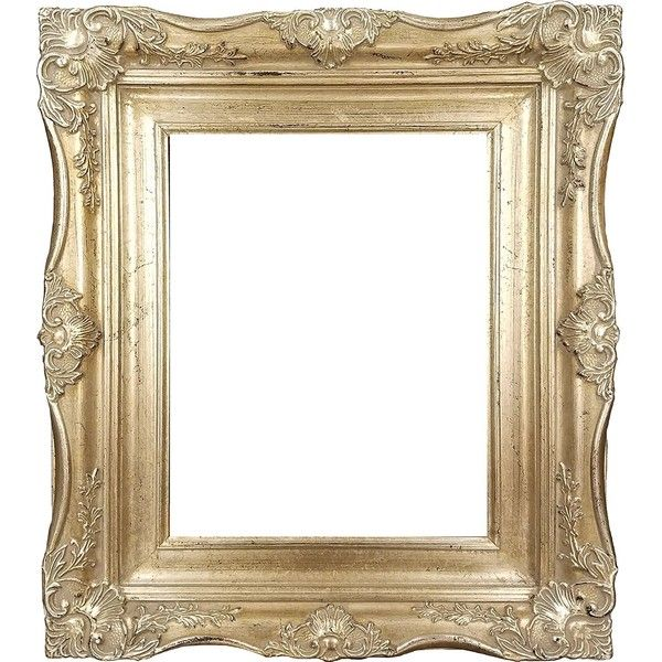 4 Vintage Ornate Baroque French Silver Picture Frame 11x14 Inch 52 Liked On Polyvor Ornate Picture Frames Silver Picture Frames Silver Home Accessories