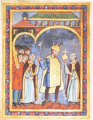 Henry III (1017 - 1056). Son of Conrad II and Gisela of Swabia. He succeeded his father as Emperor.