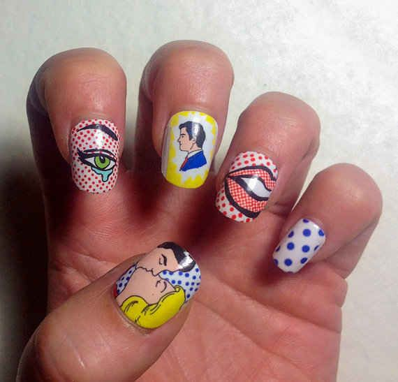 """Cartoon Nail Decals   33 Unexpected Gifts For Everyone In Your Life Me-""""THESE ARE SOOOO COOL!!!"""""""