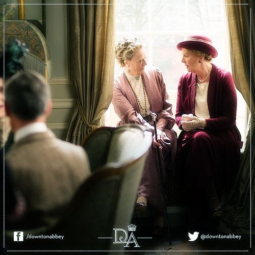 Penelope Wilton Mrs Isobel Crawley Maggie Smith Dowager ...