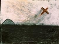 Colin McCahon, Jet out from Muriwai</em>, 1973
