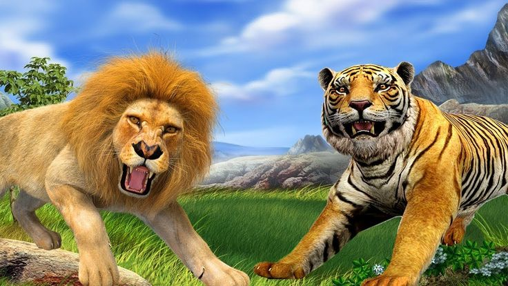 Lion Vs Tiger Fight || Lion Cartoons For Children || Tiger Vs Lion Death Battle || Animals For Kids https://youtu.be/_XTLORrPt2o