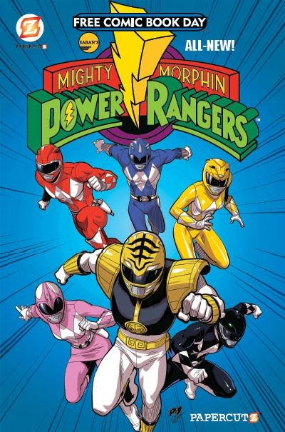 """""""They're Back"""" - Interview with Stefan Petrucha [Writer of PapercutZ MMPR series]"""