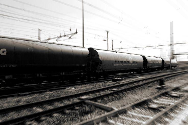 HIGH SPEED -   #train #500px #highspeed #railwaystation #photographer