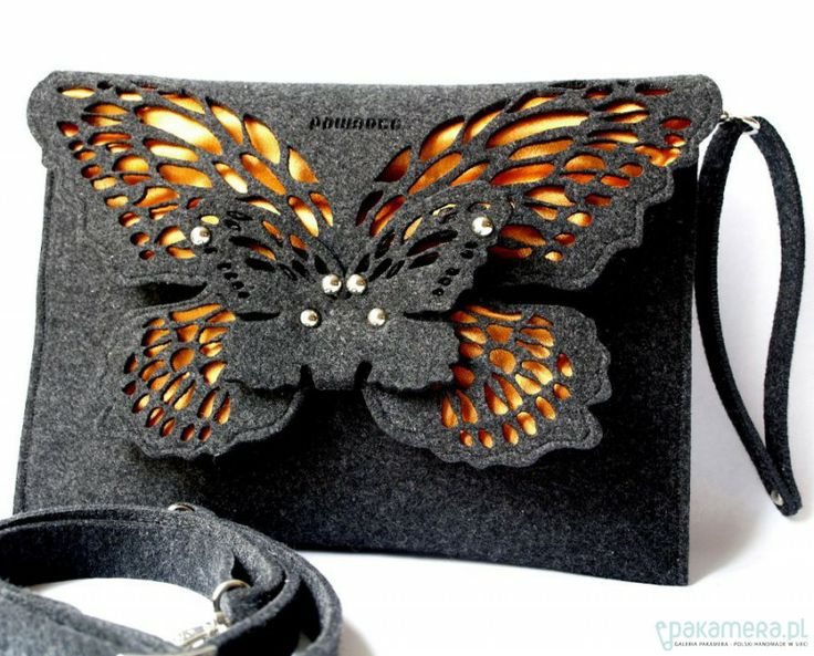 Pakamera.pl - kopertówki - motyl&oranż ♡