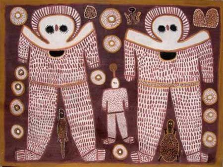 ancient alien cave paintings