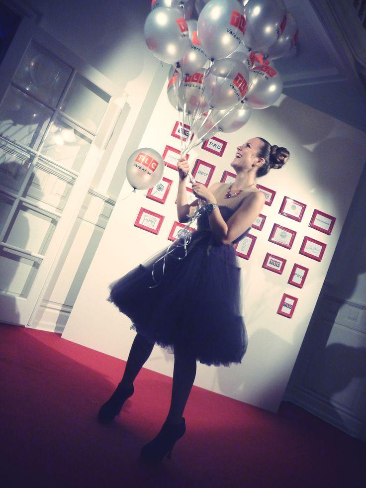 At the launch of TLC in Denmark wearing Lanvin <3 H&M. emilysalomon.dk