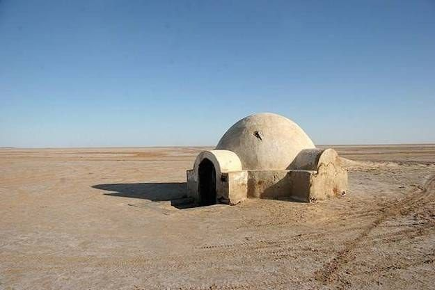 Many of the buildings constructed to be used in shots of Tatooine are still standing in Tunisia. In fact, some of them are still used by locals.