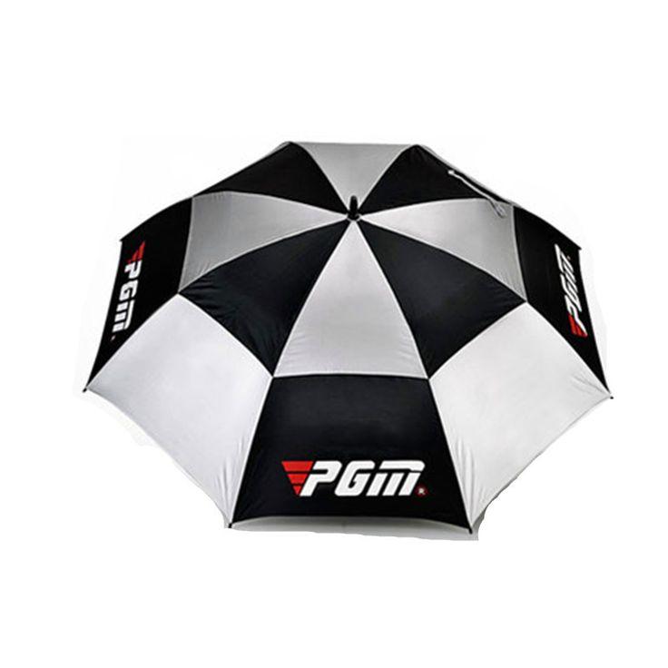 2015 super strong golf manual / automatic umbrella oversized golf umbrella anti-typhoon-grade glass fiber Lightning