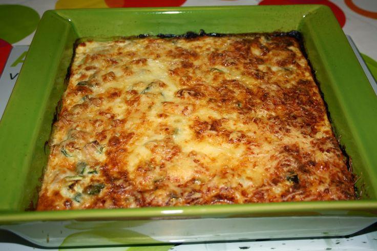 La cuisine de mathilde: Clafoutis courgettes-thon