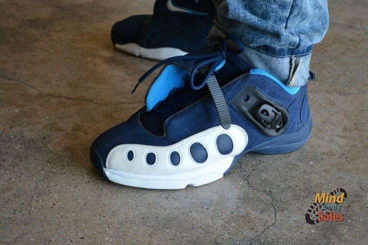 Nike Air GP 2 high top basketball shoes Gary Payton sneakers