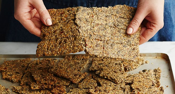 Amazing seeded crackers in 2020 seed crackers recipe