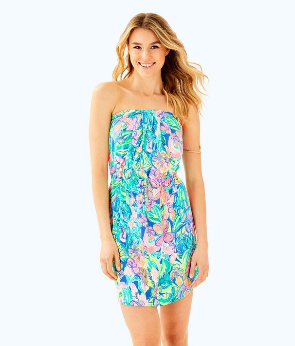 973f8a792349 Windsor Strapless Pull-On Dress | Summer Dresses | Dresses, Summer ...