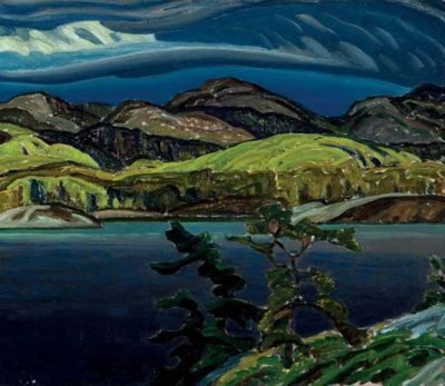 FRANKLIN CARMICHAEL.. 5/4/1890--10/24/1945.. member of the Canadian Group of Seven