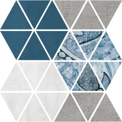 Mosaico Laterza Cement 31X30