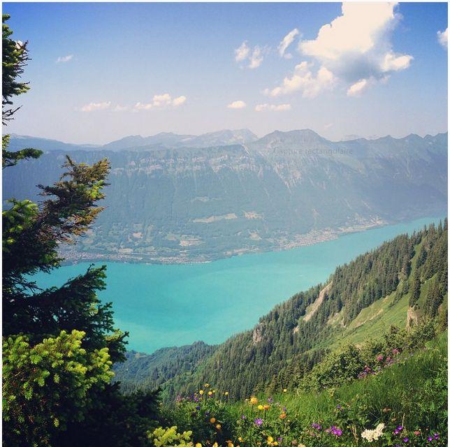 Lac de Brienz, Oberland