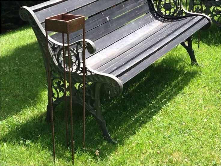 Cenicero de hierro para  jardín , realizado por Jardines y Rincones Paisajismo