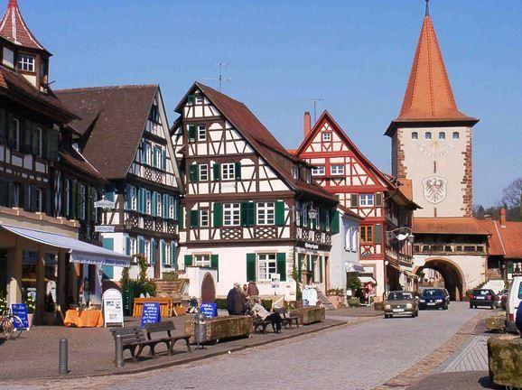 Gengenbach Schwarzwald Karte   Que ver y visitar – Ciudades y Pueblos más importantes de la Selva ...