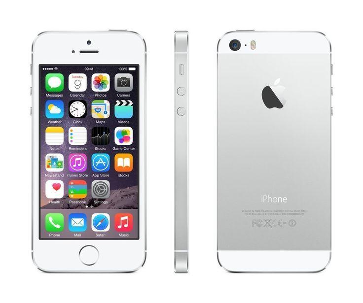 Apple iPhone 5S Silber 16GB SIM-Free Smartphone (Zertifiziert und Generalüberholt) EUR 195,00