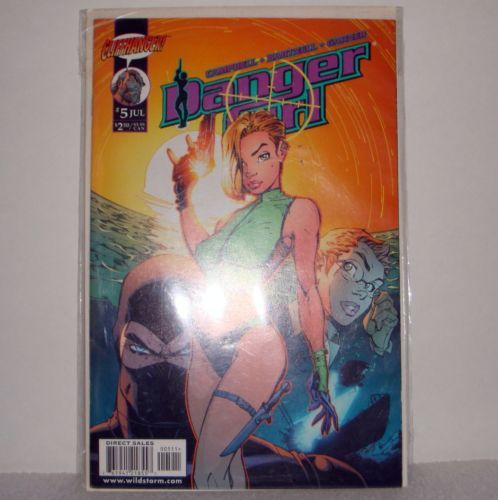Danger-Girl-5-July-1999-First-Printing-Image-Comics-Bagged-Boarded