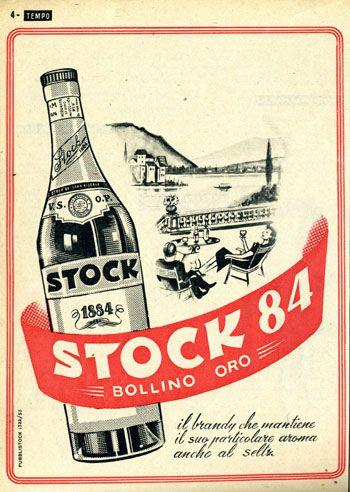 Pubblicità anni '50 Stock 84 #TuscanyAgriturismoGiratola
