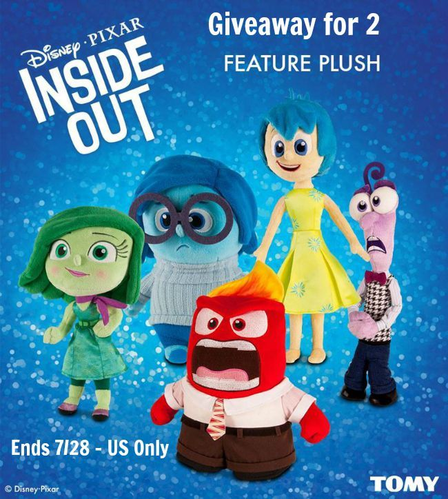Add #InsideOut #Talking #Plush Toys to Your Holiday Collection!