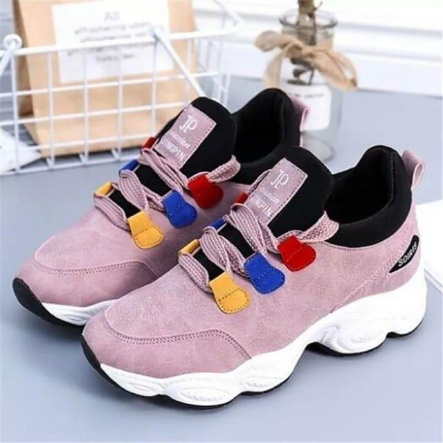 Sepatu Sneakers Sport Wanita Import Hh5 Deskripsi Produk Warna
