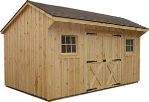 Garden Storage Shed, discussion of what types of sheds are best for lofts