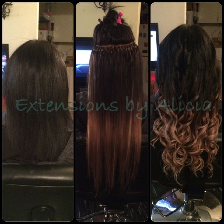 Extensions by Alicia ombre
