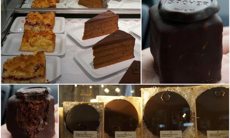 Austria Food Piece Of Cakes Desserts