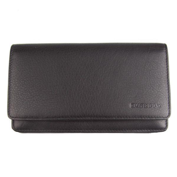 Burkely portemonnee zwart – So Baggy