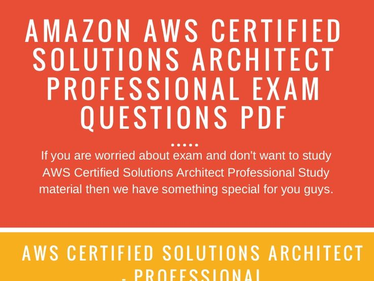 AWS | https://www.slideshare.net/christopher73/free-aws-solutions-architect-professional-practice-test-questions-exam-prep/1 Amazondumps.us is having very good results due to the hard work of the field expert in its platform. Now you can easily pass such a challenging test using our study material.  We guarantee that you approve AWS by using AWS Certified Solutions Architect Professional exam dumps according to expert guidelines. Otherwise, your money will be returned.