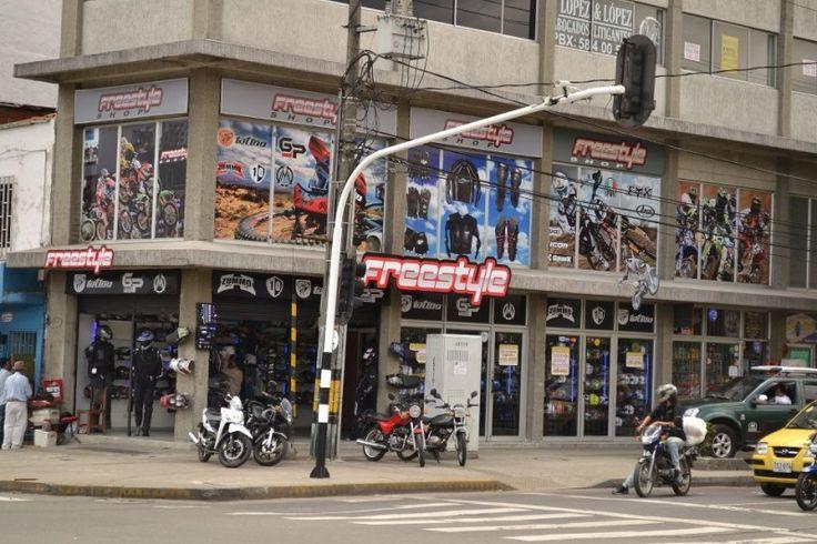 Tienda de repuestos para motocicletas Medellin