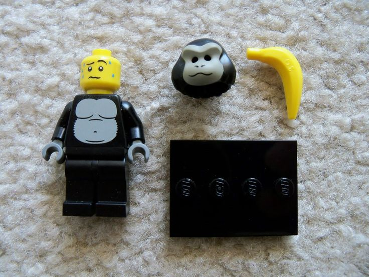 Lego Minifigure Series 3: Gorilla Suit Guy