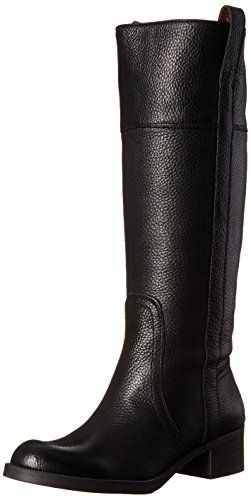 Lucky Women's Heloisse Riding Boot, Black,7.5 M US