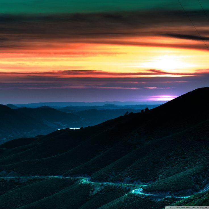 Amazing Sunset HD iPad Wallpaper Landscape wallpaper