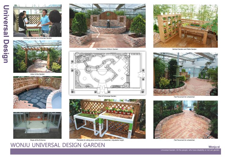 I 39 m going to made horticultural therapy garden for people for Garden design for disabled