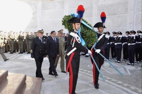 Giornata dell'Unita' Nazionale e delle Forze Armate