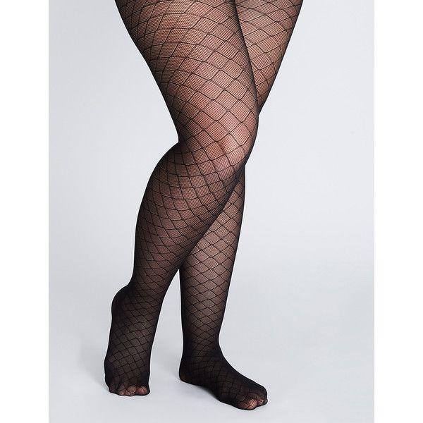 Start plus size pink fishnet pantyhose video encantaría