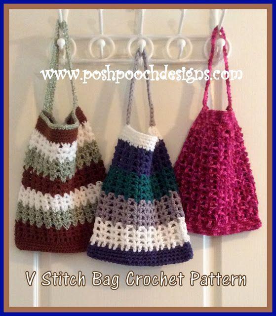 184 mejores imágenes de Crochet Bags en Pinterest | Bolsa de mercado ...