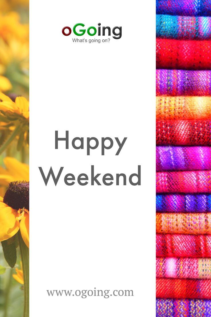 Happy weekend community