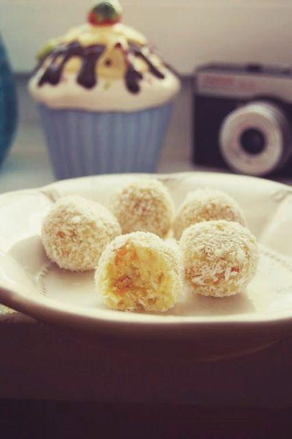 ♥ ugotujmy: na okrągło: kokosowe z morelami i pomarańczą