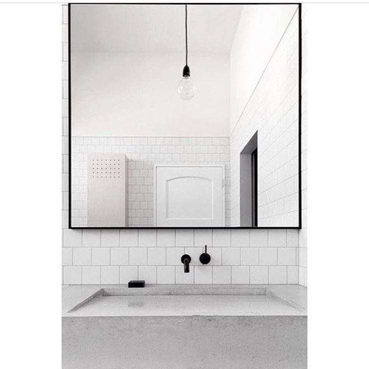 "676 Likes, 14 Comments - Dot➕Pop Interiors - Eve Gunson (@dotandpop) on Instagram: ""Clean lines with a minimalist approach can be so striking... this is so beautiful! And that black…"""