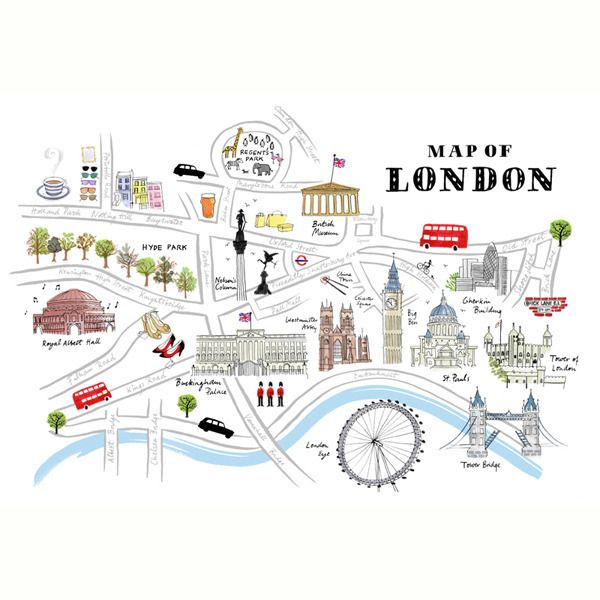 Image of Map of London - Alice Tait