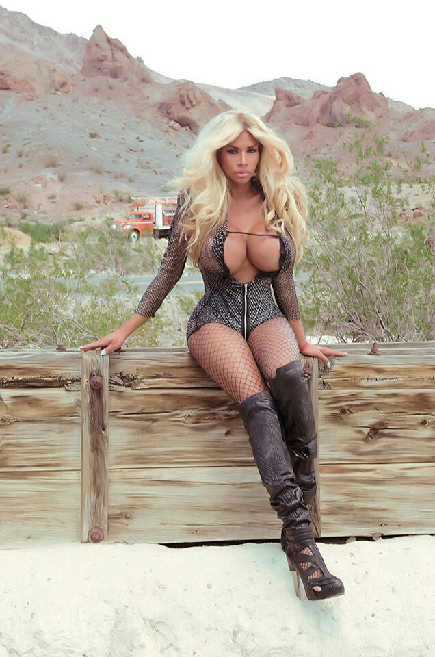 Sorry, Hot chick with realy big tits and boots