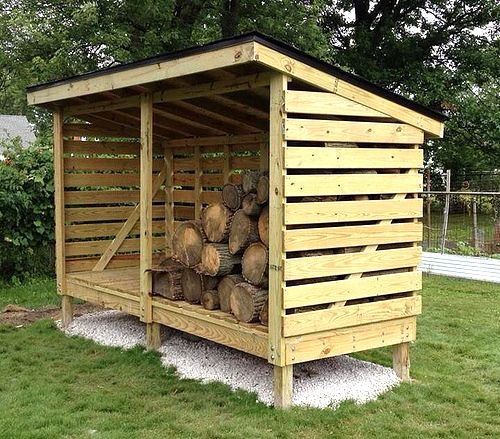Having a firewood shed is a great way to store your firewood, but there are…